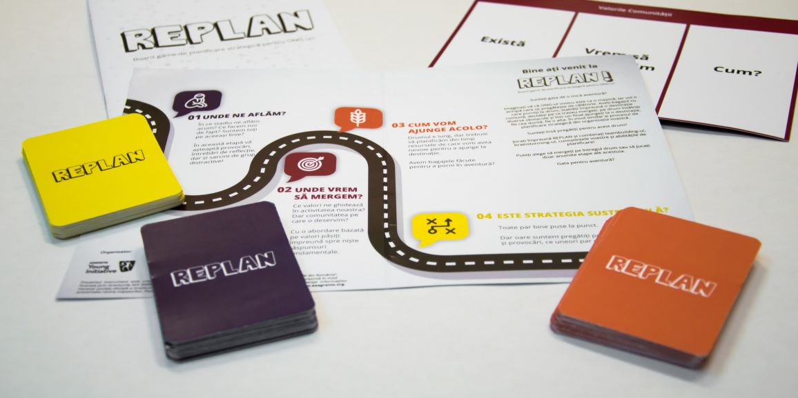S-a dat startul pre-comenzilor la primul board game de planificare strategica pentru ONG-uri