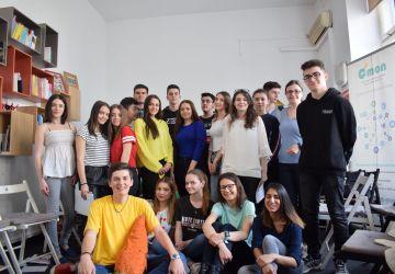 Tinerii din București/Ilfov promovează valorile europene și implicarea civică