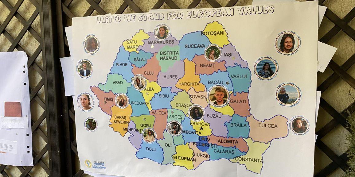652 de tineri români au luat parte la proiectul de promovare a valorilor europene – UNITED